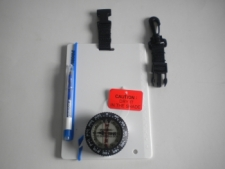"""7""""x5"""" Quick Release Slate with Compass & Attachment Clip """" 1 Only!"""" - Product Image"""