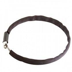 "8 1/2"" Stainless Steel Hose Clamp w/ Fabric Cover - Product Image"