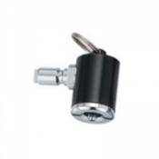 Key Ring Tire Inflator (BLACK) - Product Image