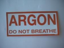 Argon Sticker - Product Image