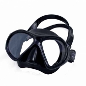 "Aspen Masks ""Black Frame / Black Skirt Color"" - Product Image"