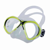 "Aspen Masks ""Neon Yellow Frame Mask Color"" ***ONE LEFT!*** - Product Image"