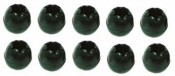 "BLACK 3/16"" / 5/32"" Toggle Ball ""Package of 10 Balls"" - Product Image"