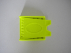 Yellow Plastic 3 slot Buckle - Product Image
