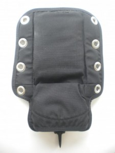 Backplate Pad with Smb / Liftbag Mesh Pockets! - Product Image