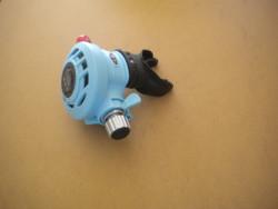 "Piranha Explorer Adjustable ""WMD"" Extreme Diving 2nd Stage  ""Light Blue""  - Product Image"