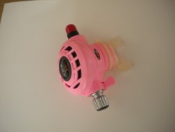 """Piranha Explorer """"WMD"""" Extreme Diving 2nd Stage  """"PINK"""" """" 1 only!"""" - Product Image"""