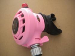 "Piranha Explorer Adjustable ""WMD"" Extreme Diving 2nd Stage  ""PINK""  - Product Image"