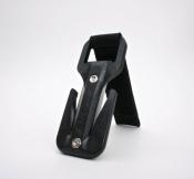 """Black Trilobite Flexi Pouch  """"Gun Metal"""" - Product Image"""