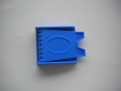 Blue Plastic 3 slot Buckle - Product Image