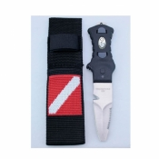 Blunt Tip Knife w/Nylon Webbing Sheath   - Product Image