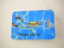 "Bone Diver Luggage Tag   ""One Tag Price"" - Product Image"