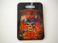"Pirate Luggage Tag   ""One Tag Price"" - Product Image"