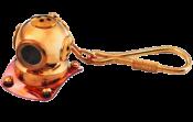 Brass & Copper Mark V Helmet Keychain - Product Image