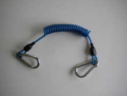 Bungee W/ Carabiners on both ends  BLUE - Product Image