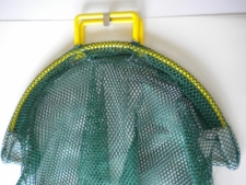 COATED Wired Handle Mesh Bag  X-Large      GREEN Mesh - Product Image