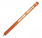 Closed Bottom 6ft ORANGE SMB - Product Image