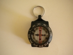 Compass w/ Split Ring  - Product Image