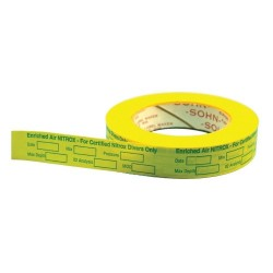 Deluxe Nitrox Tape w/ all your required info  - Product Image