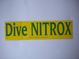 Dive Nitrox Decal - Product Image