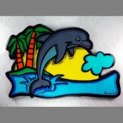 Dolphin Wall Art - Product Image