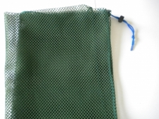 Drawstring All Mesh Bag X-Large     GREEN - Product Image