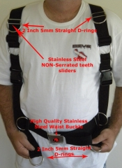 Dual Quick Release Adjustable Comfort Harness - Product Image