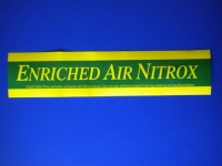EAN Nitrox MEDIUM Size Sticker - Product Image