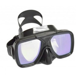 Special! Edge Image Pink/Red Enhanced corrective Lens Mask w/ Plastic hard box! - Product Image