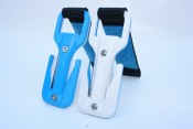 Eezycut Blue/White Knife Harness Pouch - Product Image