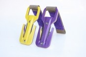 Eezycut Purple/Yellow Knife Harness Pouch - Product Image