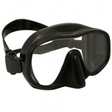"Explorer Frameless Mask   ""Black Frame w/Black Skirt"" - Product Image"