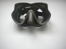 "Explorer II Frameless Mask   "" Titanium Frame w/ Titanium Color Skirt"" - Product Image"