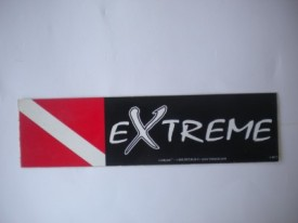 Extreme Diver Decal - Product Image