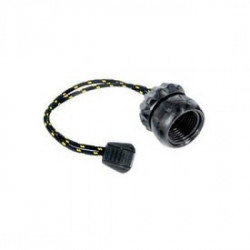 """New! Female First Stage Din Rotating Cap """"Tec Black"""" - Product Image"""