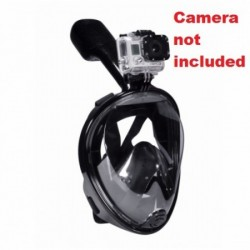 Full Face Snorkel Mask with Camera Mount ***Select from 3 Colors*** - Product Image