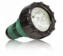 Green Force Special! Heptastar 2000 DPM Green Body Lighthead Only 1Left! - Product Image