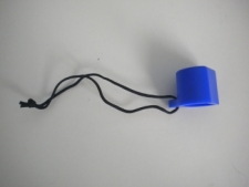 "Hard Valve Protector Cap  ""BLUE"" - Product Image"