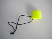 "Hard Valve Protector Cap  ""Neon YELLOW"" - Product Image"