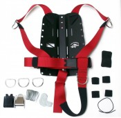 "Hog Hogarthian Basic Harness ""RED Webbing"" - Product Image"