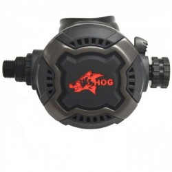 Hog Zenith Smoke Face Second Stage Regulator - Product Image