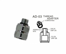 Hose Adapter 3/8-24 male - 1/2-20 female - Product Image