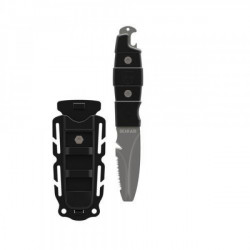 "Intro Special! Gear Aid Akua Blunt Tip Knife ""Black Handle/Shealth"" - Product Image"