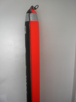 """Just In! Special Pricing!! 6ft / 72"""" inch Orange/Black SMB """"Flapper Valve bottom""""  - Product Image"""