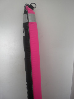 """Just In! Special Pricing!! 6ft / 72"""" inch Pink/Black SMB """"Flapper Valve bottom""""  - Product Image"""