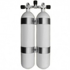 L50DVB Double Set-Up Faber Grey Cylinders PLUS Free Domestic Shipping!! - Product Image