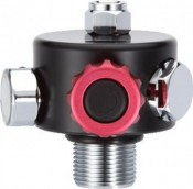 "Low Profile Spare Cylinder Regulator  ""Nitrox Ready"" - Product Image"