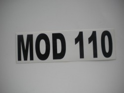 MOD 110 Sticker - Product Image