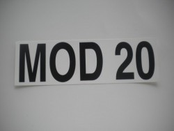MOD 20 Sticker - Product Image