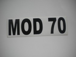 MOD 70 Sticker - Product Image